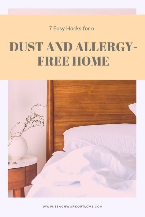 7 Easy Hacks For A Dust And Allergy Free Home Allergy Free