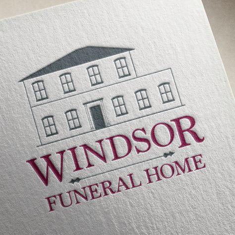 Logo Design For Windsor Funeral Home Branding By Zaga