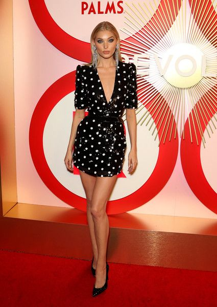 Model Elsa Hosk attends Revolve's second annual #REVOLVEawards at Palms Casino Resort.