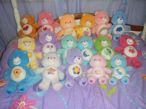 Care Bears Collection Vintage by KessieLou on DeviantArt Care Bears Stuffed Animals, Bear Tumblr, Aesthetic Indie, Aesthetic Images, Indie Girl, Bear Wallpaper, Wall Collage, Aesthetic Wallpapers, Bunt