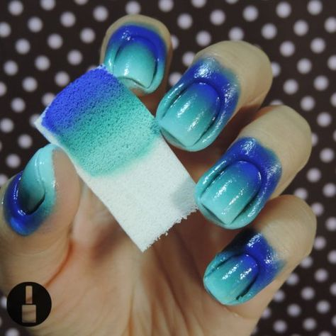 Ombré patterns have been everywhere as of late, and it's not only for home now, let's see this fun and fabulous ombre nail art look you can do at home.