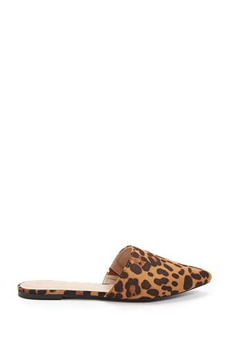 official photos factory outlet cute Leopard Print Flat Mules | Leopard print flats, Leopard print ...