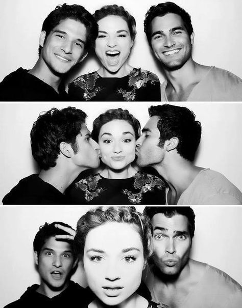 I wish that was me in the 2nd picture Allison is so lucky ......she's really pretty too.......it's a bonus. It looks like Derek isn't wearing a shirt in the third picture...hahaha lol