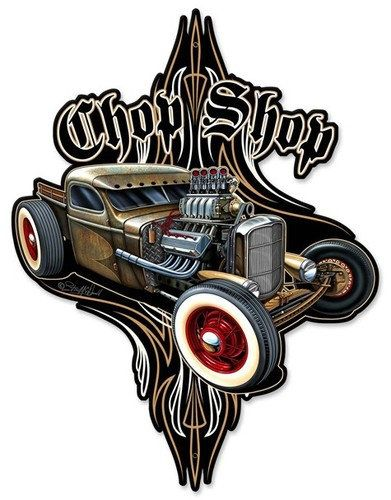 RAT ROD HOT ROD STICKER   DON/'T TOUCH MY HARLEY