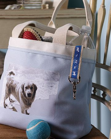 Photo Transfer Tote Bag