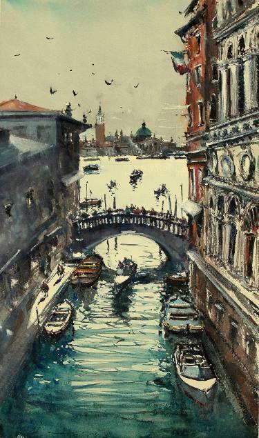 Venice Under the Bridge II
