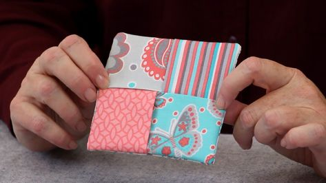 10-Minute Folded Fabric Coasters (Video)