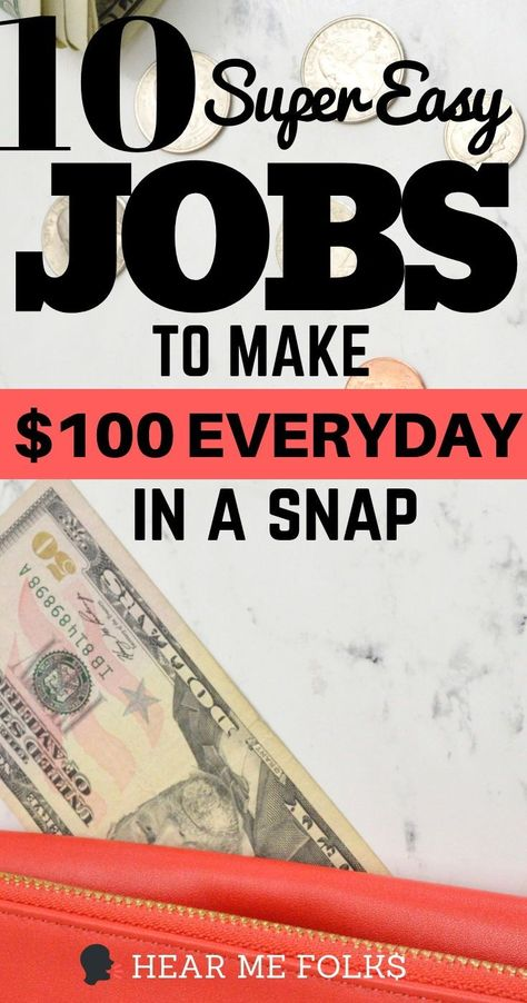 How to Make 50 Dollars Fast (In An Hour or Less)