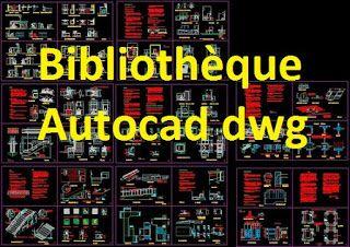 Extraordinaire Bibliothèque autocad dwg 2d gratuit   Autocad, How to plan SX-76