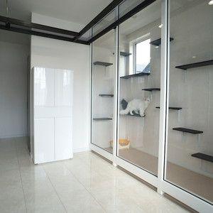 特注仏壇キャビネット Cabinet 札幌の家具屋 Simple Pleasure インテリア 収納 ねこ インテリア ペットの部屋