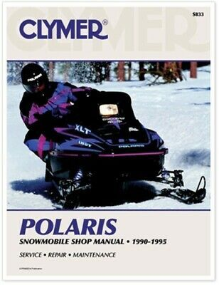 Details About Clymer S833 Service Shop Repair Manual Polaris Snowmobile 90 95 S833 27 S833 In 2020 Polaris Snowmobile Clymer Snowmobile
