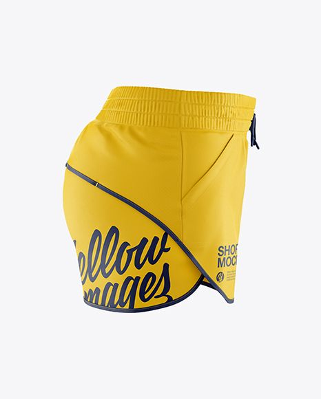 Download Fitness Shorts Mockup Side View In Apparel Mockups On Yellow Images Object Mockups Clothing Mockup Design Mockup Free Shirt Mockup