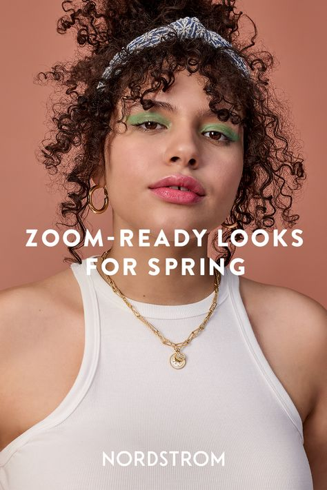 Make a sweet virtual first impression for your next Zoom date or happy hour with above-the-waist details and hair accessories that look as cute online and IRL.