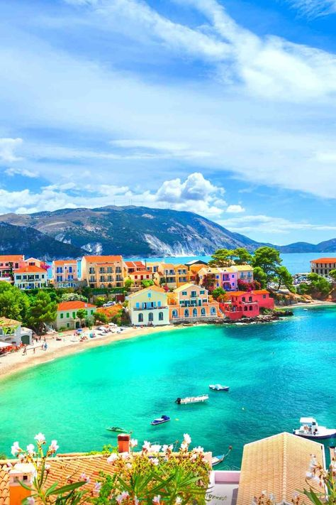 Beautiful Greek Islands For Beach Vacation #bucketlist