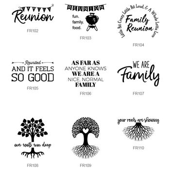 Choose From A Variety Of Family Reunion Designs For Your Custom Printed Party Supplie Family Reunion Shirts Family Reunion Shirts Designs Family Reunion Favors