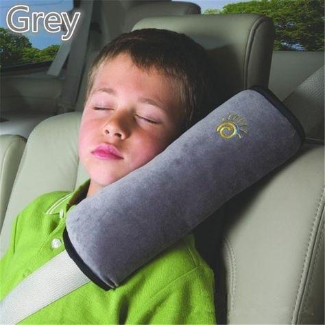 super easy Seatbelt Pillows