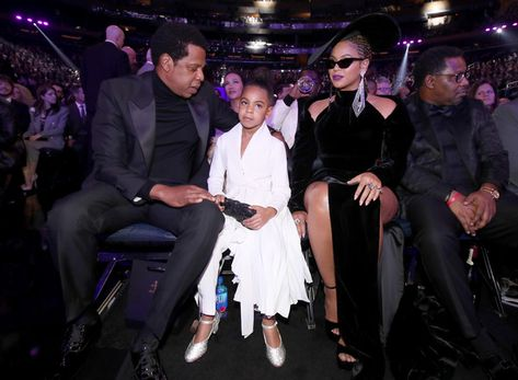 Jay Z and Beyonce (and Blue Ivy) - The Cutest Couples at the 2018 Grammy Awards - Photos