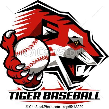 Baseball Tiger Cliparts - Cliparts Zone