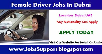 Female Driver Job Vacancies In Dubai Driver Job Job Dubai