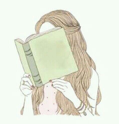 Pin De Carmen Arroyo En Infance Dibujos Tumbrl Chica Leyendo Personas Leyendo Libros