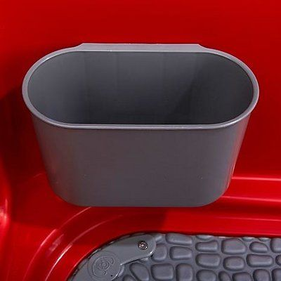 Booster Bath Elevated Dog Bathing And Grooming Center Medium Red