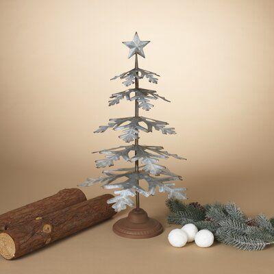 The Holiday Aisle Galvanized Metal Christmas Wayfair In 2020 Metal Tree Wall Art Metal Tree Tree Wall Decor
