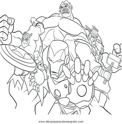 Dessin De Coloriage Avengers A Imprimer Cp02322 Coloriage Gratuit