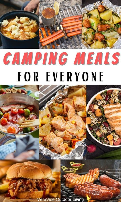 Creating lasting memories at the campground often happen around the camping meals you share. Check out all these camping meals  pick up a meal planner while ou are here.
