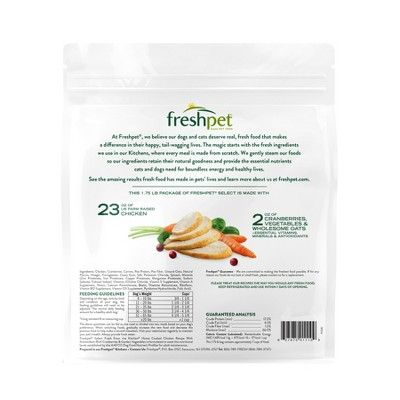 Freshpet Select Fresh From The Kitchen Refrigerated Wet Dog Food