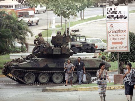 — Sheridan in Panama during Operation Just.