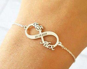 Forever Bracelet Infinity Bracelet Women Silver Infinity Necklace Infinity Bracelet Infinity Anklet Infinity Gifts Infinity Jewelry