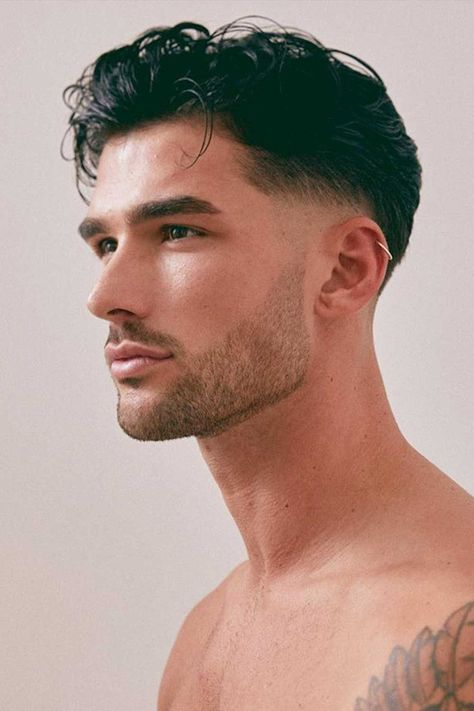 Find Your OWN Undercut Haircut at barbarianstyle.net #beauty #haircuts #hairstyles #cuts #undercut #undercuthaircut #undercuthairstyle Mens Hairstyles Fade, Wavy Haircuts, Cool Hairstyles For Men, Haircuts For Men, Men's Hairstyles, Haircut Styles For Boys, Short Hair Hairstyle Men, Mens Fade Haircut, Mens Undercut Hairstyle