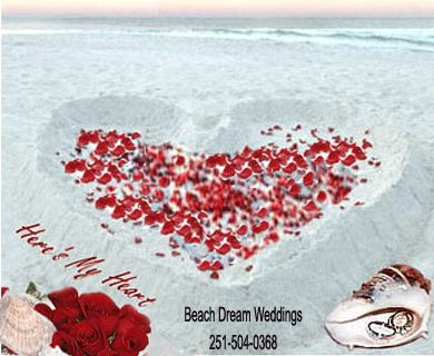 Beach Wedding Packages Gulf Shores Alabama Orange Weddings