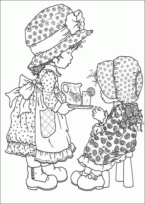 Sarah Kay Colouring Pages 003 Coloriage Dessin Coloriage Et