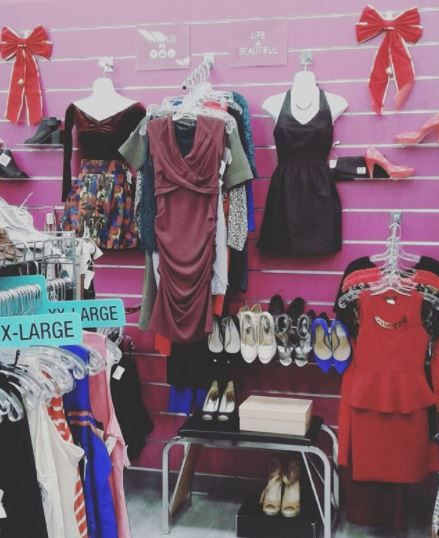 Now Featuring Our Christmas Event Wall At Plato S Closet Cambridge We Have Everything You Need To Fashion A Perfect Chr Michael Kors Heels Guess Heels Fashion