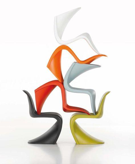 Vitra Panton Chair | Design Classics | Sedia panton, Sedie ...