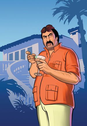 Gta Vice City Stories Gonzalez Illustration 2006 In 2020 Grand Theft Auto Artwork Grand Theft Auto Series Rockstar Games