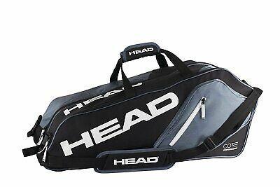 Head Core 6r Combi Tennis Racquet Bag 6 Racket Tennis In 2020 With Images Tennis Bags Tennis Racquet Bag Racquet Bag