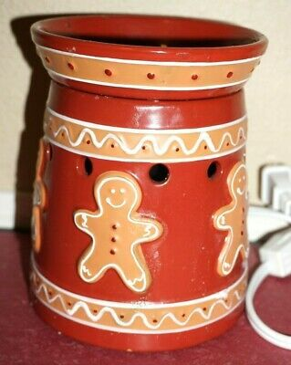 Scentsy Christmas Lights 2020 Scentsy Gingerbread Full Size Warmer Retired Holiday Christmas