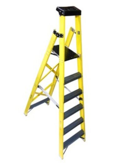 Frp Industrial Platform Ladder In 2020 Ladder Platform Ladder Conductive Materials