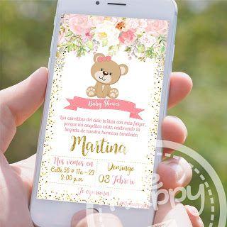 Be Happy Tarjeta De Invitación Baby Shower Tarjetas Baby