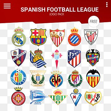 Spanish Football League Logo Pack Spain Spanish Football Png Transparent Clipart Image And Psd File For Free Download In 2021 Instagram Logo Football League Logo Facebook