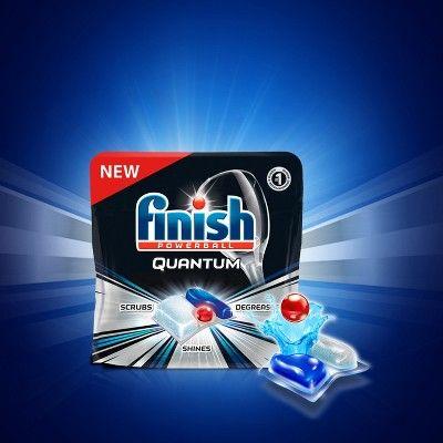 Finish Quantum Ultimate Clean Shine Dishwasher Detergent Tablets 68ct Size 68 Count Dishwasher Detergent Dishwasher Cleaning