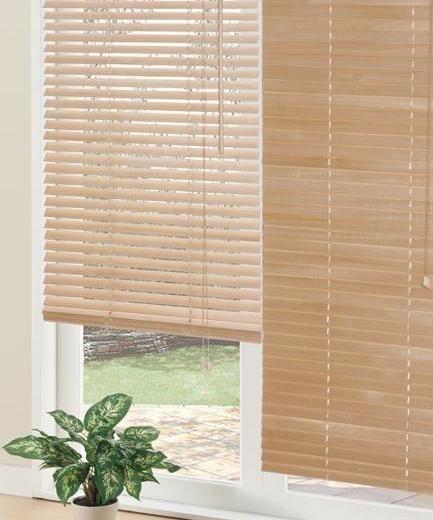 木目の美しい天然木使用 木製ブラインド ヴェント ニトリ公式通販