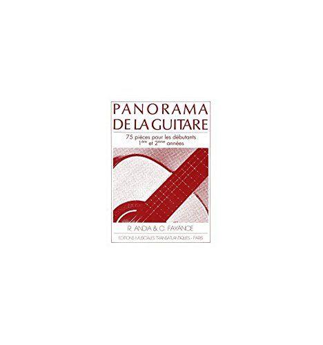 Telecharger Rafael Andia Panorama De La Guitare Volume 1 Pdf Par Rafael Telecharger Votre