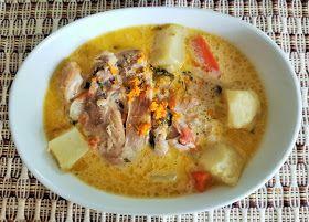 Recetas Con Sabor Latino Receta De Pollo En Crema De Guatemala Pollo A La Crema Comida Guatemalteca Recetas De Comida Mexicana