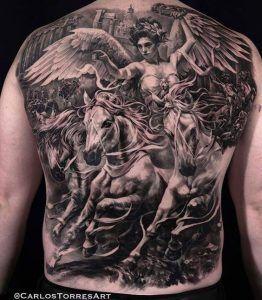 Tatuajes Para Hombres En La Espalda 1800 Fotos Mejores