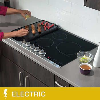 Frigidaire Professional 30 In Electric Cooktop With Powerplus Technology Frigidaire Professional Electric Cooktop Kitchen Interior Design Modern