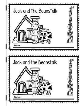 Jack And The Beanstalk Jack And The Beanstalk Fairy Tales Kindergarten Kindergarten Language Activities