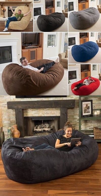 Amazing Bean Bags And Inflatables 108428 8 Foot Lounger Bean Bag Machost Co Dining Chair Design Ideas Machostcouk